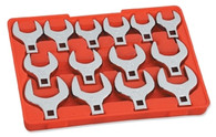 MIT 2585 1/2 Inch Drive Jumbo Crowfoot Wrench Set SAE 14-PC.