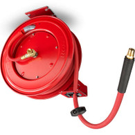 TEKTON 46848 50 Ft X 1/2 Inch Auto Rewind Air Hose Reel 250 PSI