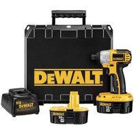 DeWalt DC825KA Heavy Duty 1/4 inch 6.4mm 18 VoltImpact Driver Kit