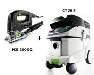Festool P26561123 CT 26E/PSB 300 EQ Package Deal