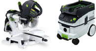 Festool P26561287 CT 26E/KS 120 EB Package Deal