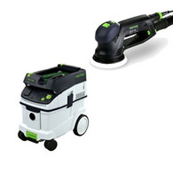 Festool CT 26E/RO 125 FEQ Sander Package Deal