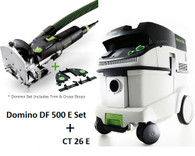 Festool P26574308 CT 26 E/Domino 500 E Set Package Deal