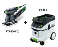 Festool P36567817 CT 36 E/RTS 400 EQ Sander Package Deal