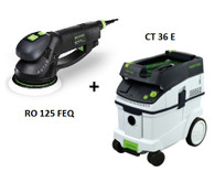 Festool P36571760 CT 36 E/RO 150 FEQ Sander Package Deal