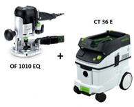 Festool P36574266 CT 36 E/OF 1010 EQ Package Deal