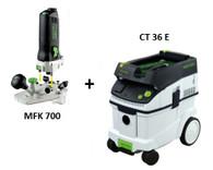 Festool P36574288 CT 36 E/MFK 700 EQ Set Package Deal