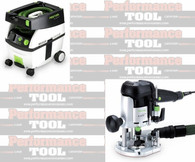 Festool PI574339 CT MIDI/OF 1010 EQ Package Deal With T-Loc