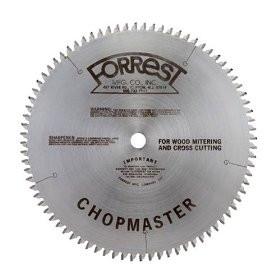 Forrest CM12806115 ChopMaster Saw Blade 12 inch 80T