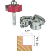 Freud 32-504 Rabbetting Bit/Bearing Set 1/2 inch Height Flush/Multi Cut Depth