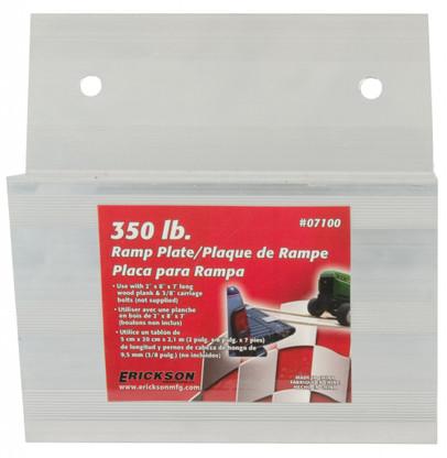 Erickson 07100 350 Lb 1/8 Inch Deck Plate Aluminum Ramp Plate