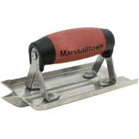 Marshalltown 14102 6 Inch X 3 Inch Stainless Steel Concrete Groover