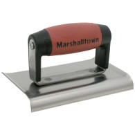 Marshalltown 14146 6 X 3 Edger Curved Ends 3/8 In Radius 1/2 In Lip DuraSoft Handle