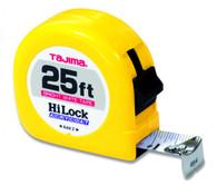 Tajima HL-25BW 25 Foot Standard Scale 1 Inch Tape Measure