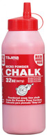 Tajima PLC2-R300 Micro Chalk Ultra-Fine Snap-Line Chalk Red 32 Ounces