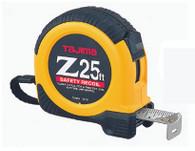 Tajima Z-25BW 25 Foot X 1 Inch Standard Scale Dual Lock Tape Measure