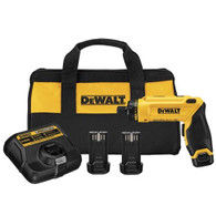 DeWalt DCF680N2 New 8V MAX Gyroscopic Screwdriver 2 Battery Kit