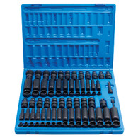 Grey Pneumatic 1281 3/8 IN Fractional & Metric Socket Set