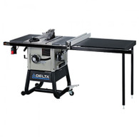 Delta 36-5052 10 In. Left Tilt Table Saw with 52 In. Right Rip and Steel Wings