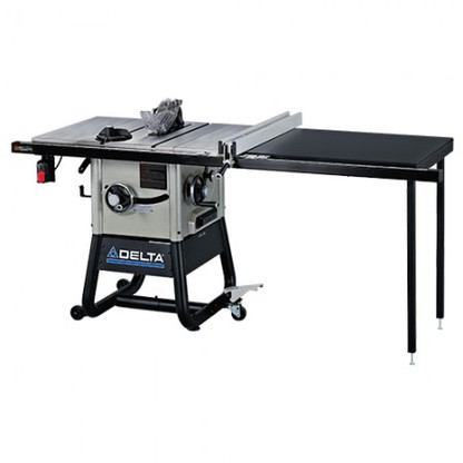 Delta 36 5152 10 in left tilt table saw right hand rip for 10 cast iron table saw