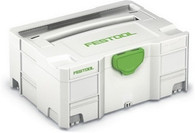 Festool 497564 SYS 2 Empty Systainer T-Loc Container (replaces 445434)