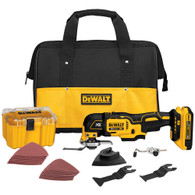 DeWalt DCS355D1 20V Max XR Lithium Ion Oscillating Multi-Tool with 28 Piece Accessory Kit