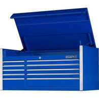 Extreme Tools EX5510CHBL 55 in. 10 Drawer Professional Tool Chest - Blue