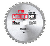 MK Morse 101615 7 1/4 in. x 60T Metal Devil Cutting Circular Saw Blade - Aluminum