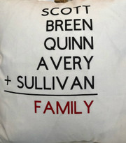 Show your family your love with this great pillow!