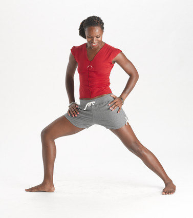 Christie yoga short in smoke heather | Hyde at Fire and Shine | Women's shorts