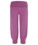 3/4 yoga pants in orchid | Wellicious at Fire and Shine | Women's capris