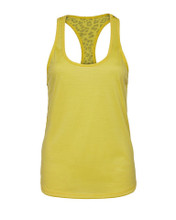 Lisa Merino Racerback Tank Yellow | Vie Active at Fire and Shine | Womens tanks