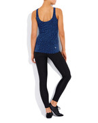 Maya Scoop Tank in Ocean Blue | Vie Active at Fire and Shine | Womens Tanks