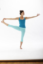 Kelly Crop in Aquamarine | Hyde at Fire and Shine | Womens Capris