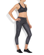Tessa 7/8 Tights Black Leopard | Vie Active at Fire and Shine | Women's leggings
