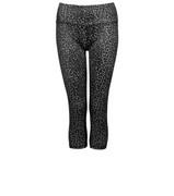 Lurv Sportswear Leopard Lust Leggings - Black Leopard