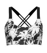 Lurv Sportswear Palm Paradise Crop - White