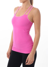 Nux Quantum Double Strap Cami - Pink Wave | Nux at Fire and Shine | Womens Tanks