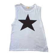 Sundry Muscle Star Tee | Sundry at Fire and Shine | Womens Tanks