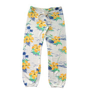 Sundry Fleece Floral Classic Sweatpants | Sundry at Fire and Shine | Womens Pants