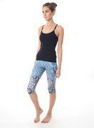 Rio Capris - Galactic Paisley | Nux at Fire and Shine | Womens Capris