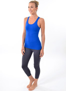 Grace Tank in Avalon Blue | Nux at Fire and Shine | Womens Tanks