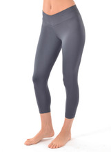 V-Ankle Pant in Charcoal | Nux at Fire and Shine | Womens Leggings