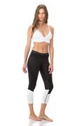 Elian Legging Black/Honeycomb/White | Body Language at Fire and Shine | Womens Leggings