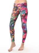 Rio Legging in Groovy Waves | Nux at Fire and Shine | Womens Leggings