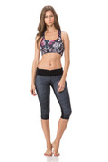 Back Twist Top Butterfly/Polka Dot | Body Language at Fire and Shine | Womens Crops