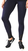 Be Tenacious Compression Legging in Paisley | Violent Orange at Fire and Shine | Womens Leggings