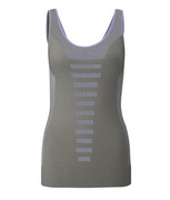 Runway Tank in Calm Grep/Purple Stripe | Wellicious at Fire and Shine | Womens Tanks