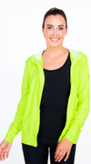 Summer Loving Hoodie in Apple Green | Violent Orange at Fire and Shine | Womens Jackets and Hoodies