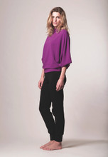 Soft Jumper in Deep Lilac   Wellicious at Fire and Shine   Womens Long-Sleeve Tops